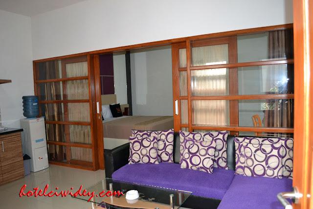 Booking villa di area wisata kawah putih dari bangkalan