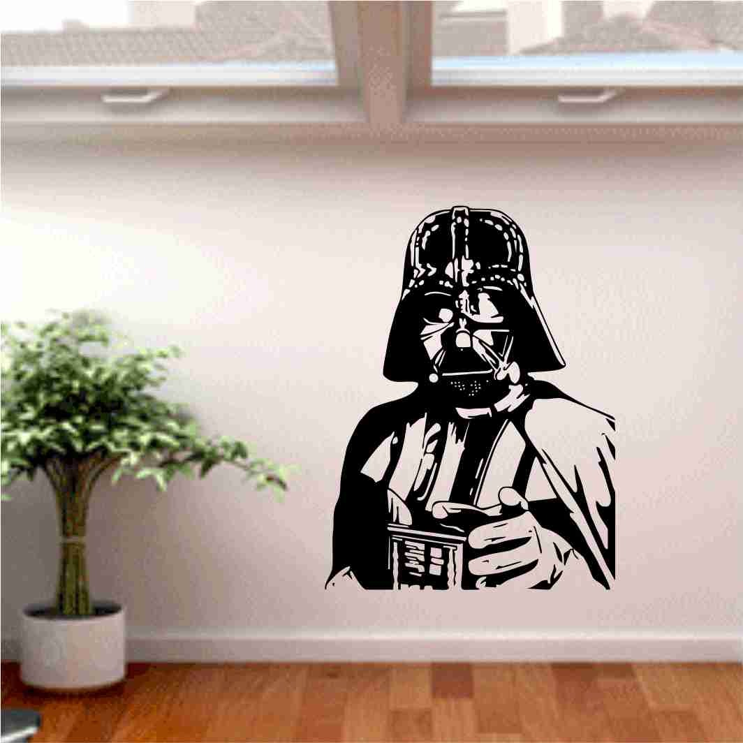 Vinilos Decorativos Star Wars Icono Interiorismo Decora La Pared Con Vinilos Star Wars