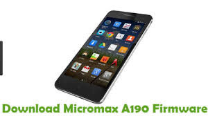 Micromax A190 Firmware-Flash File Free Download