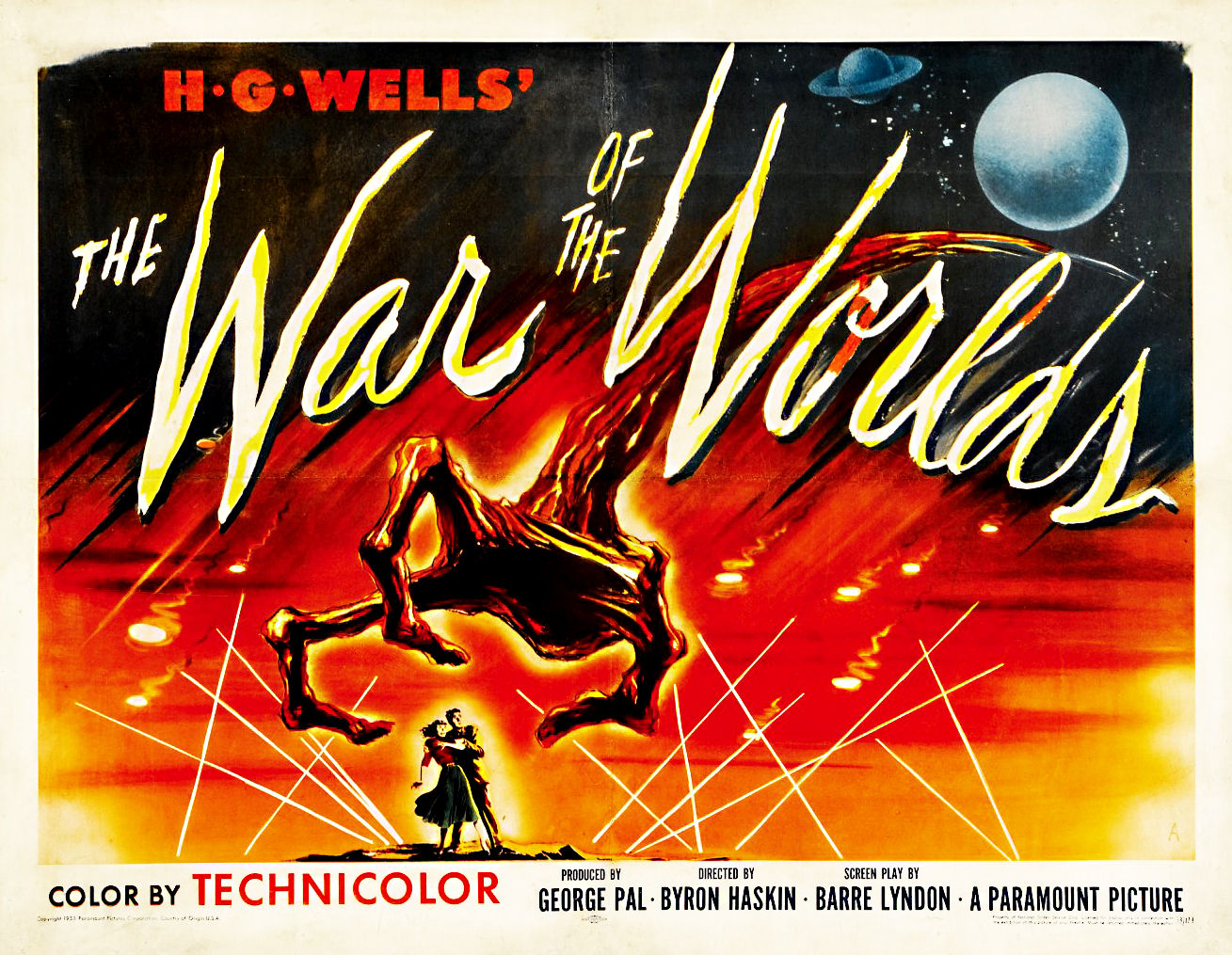 The Geeky Nerfherder Movie Poster Art War Of Worlds 1953 Short Circuit Posters From Shop