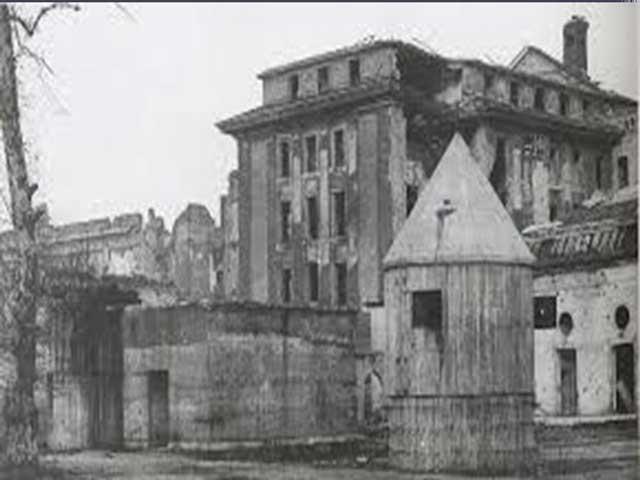 Fuhrer bunker, Third Reich graves worldwartwo.filminspector.com