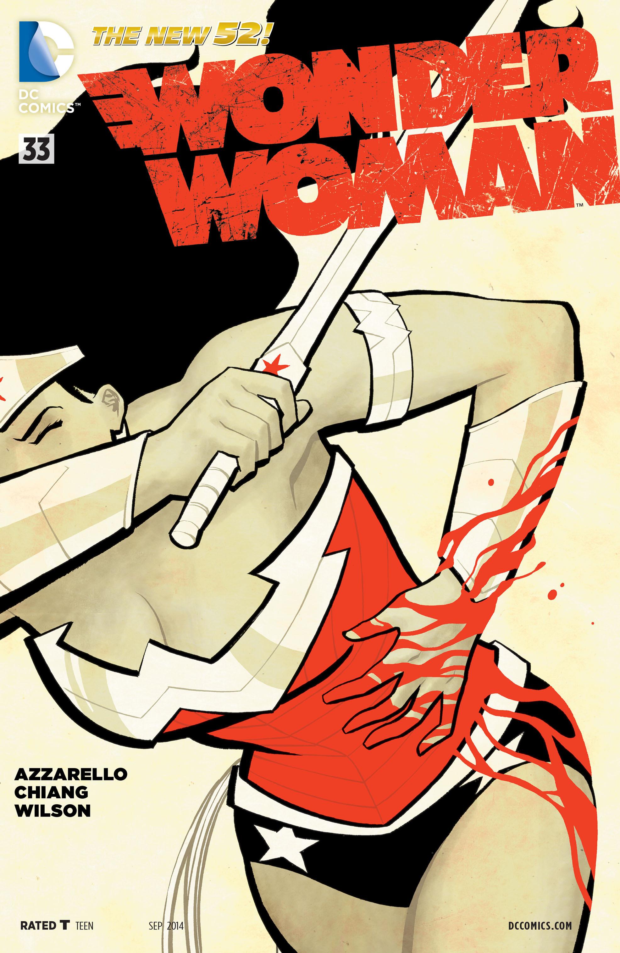 Read online Wonder Woman (2011) comic -  Issue #33 - 1