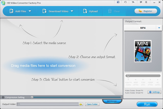 WonderFox HD Video Converter Factory pro imagenes