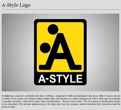 lustig Firmenlogo A Style Logo