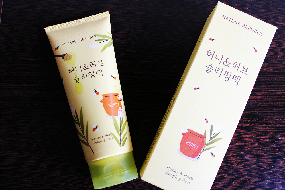 Nature Republic Honey & Herb Sleeping Pack review