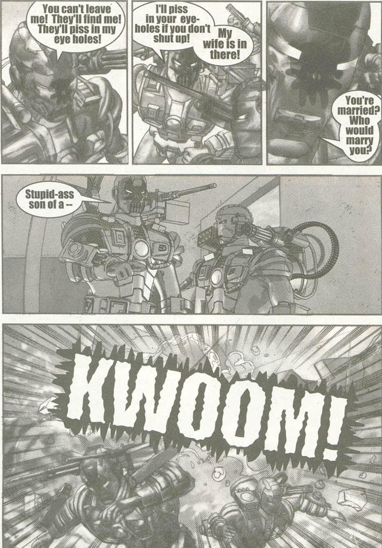 Read online U.S. War Machine comic -  Issue #6 - 21