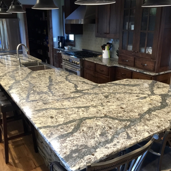 Kitchen Backsplash Same As Countertop: KB Factory Outlet: Cost Of Granite Countertops Vs. Man