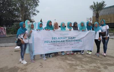 Peringati Hari Pelanggan Nasional, Wardah Buka Booth di Lampung Elephant Park