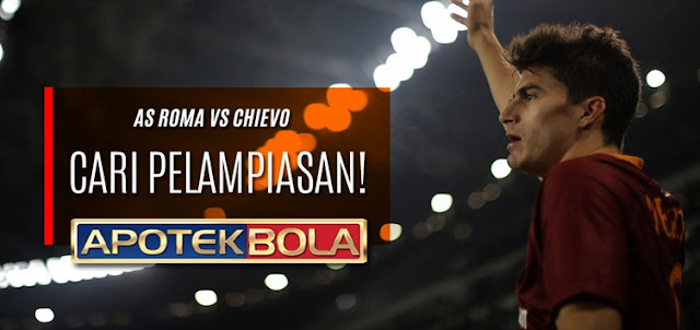 Prediksi Pertandingan AS Roma vs Chievo 22 Desember 2016