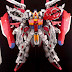 MG 1/100 Ex-S Gundam Flaming Red Colors - Custom Build