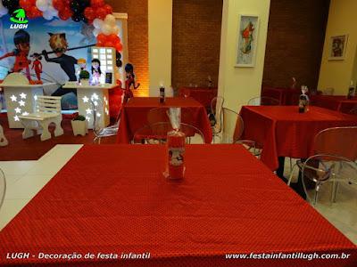 Toalhas para a mesa dos convidados- Tema infantil Ladybug