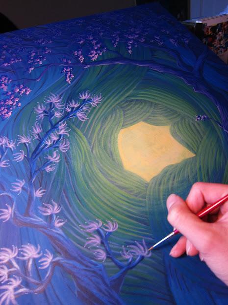 Martin Hsu Art Disney' Wonderground In Anaheim Ca- Paintings