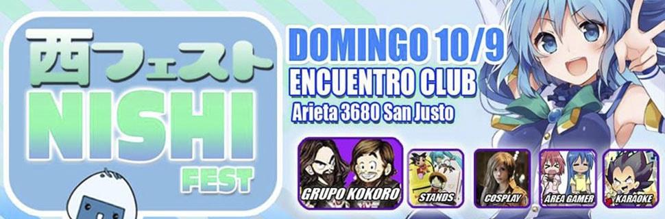 Evento anime Nishi Fest