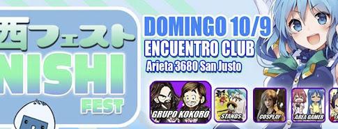 Nishi Fest Septiembre 2017 en San Justo