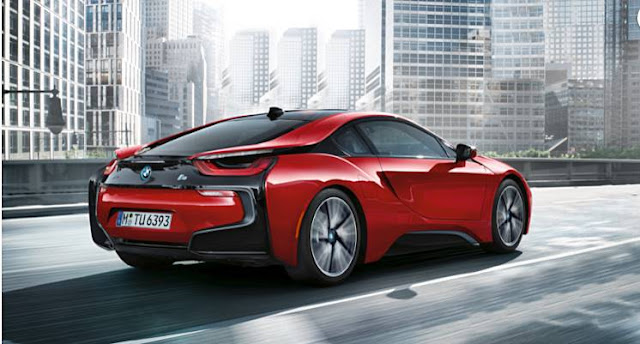 2016 BMW i8 Instrument Test