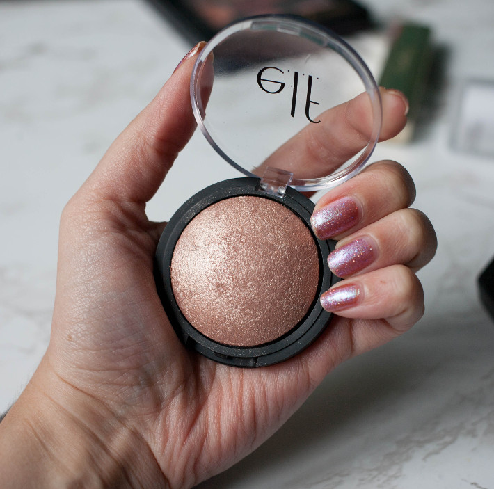 ELF Baked Highlighter Blush Gems review