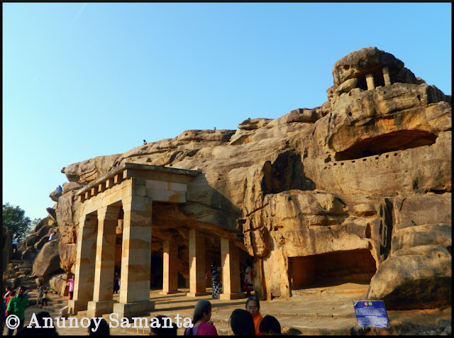 Udayagiri Caves - ancient retreats of the Jain ascetics