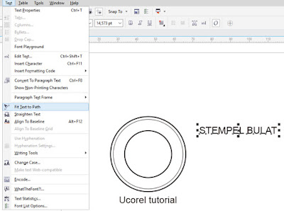 Tutorial Membuat Stempel Bulat Dengan Corel Draw