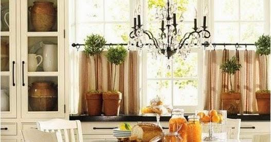 Curtain Ideas: Pottery barn kitchen curtains valances
