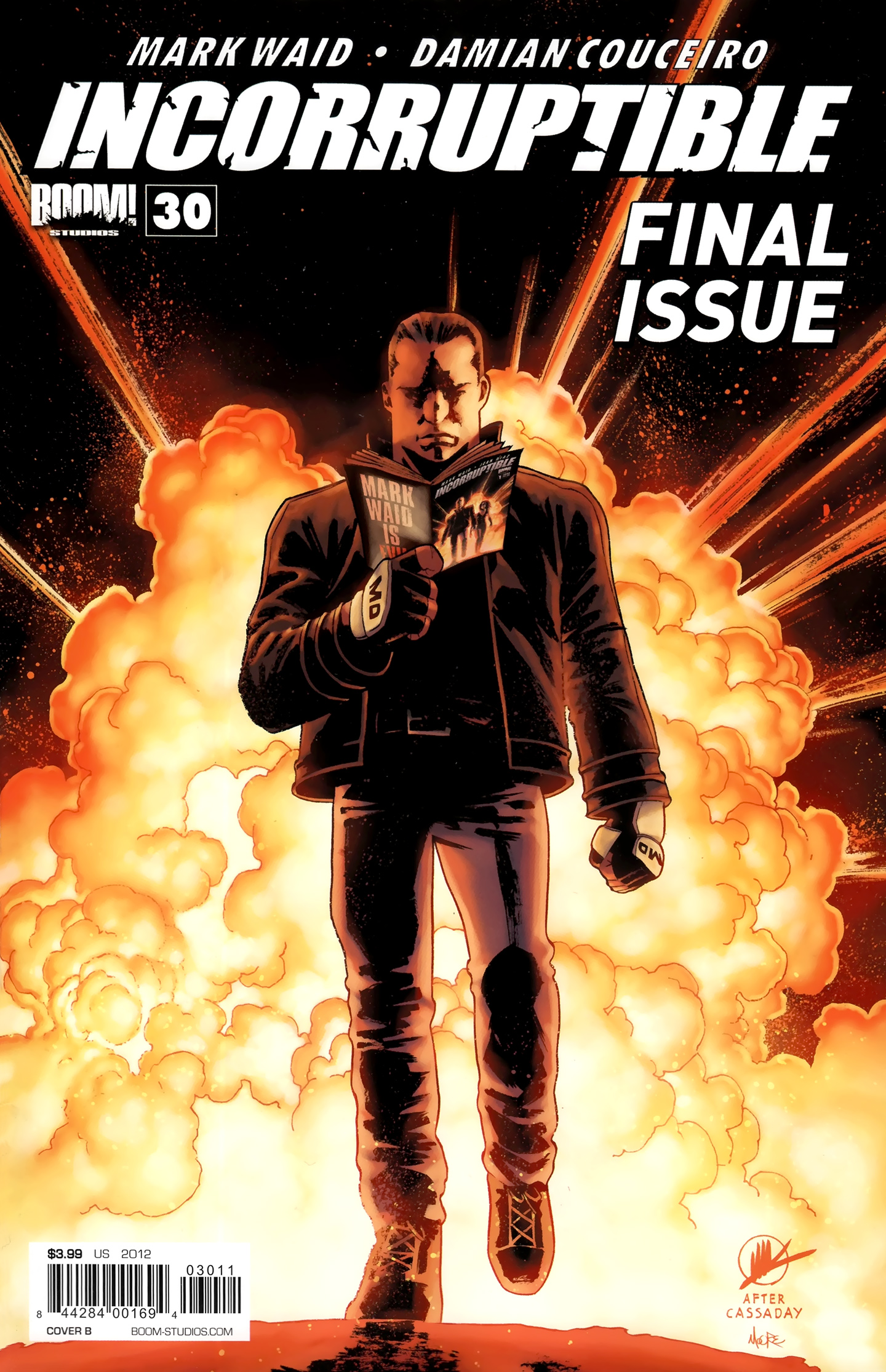 Read online Incorruptible comic -  Issue #30 - 2