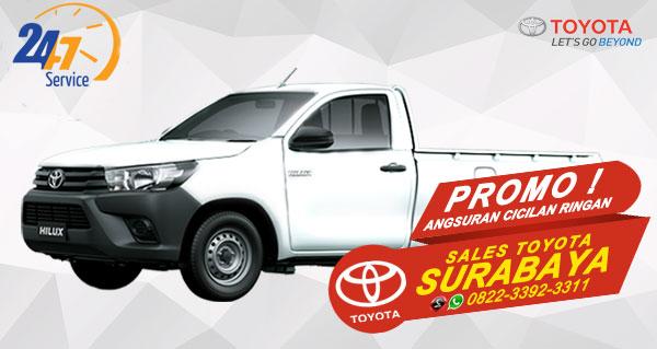 Promo Angsuran Cicilan Ringan Toyota Hilux S-Cab Surabaya