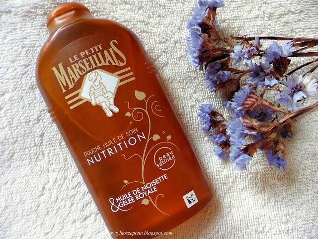 Le Petit Marseillais, olejek z orzechów laskowych i mleczko pszczele, lpm olejek do kapieli