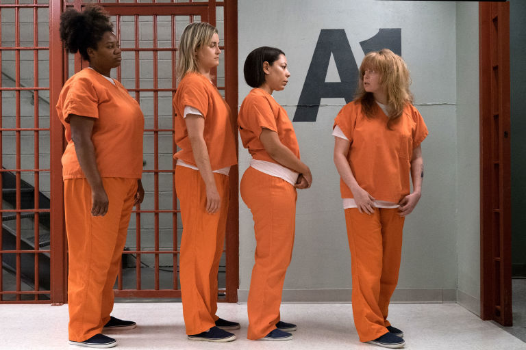 Black Cindy, Piper, Mendoza y Nicky en la sexta temporada de 'Orange Is The New Black'
