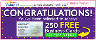 free Vistaprint coupons for march 2017