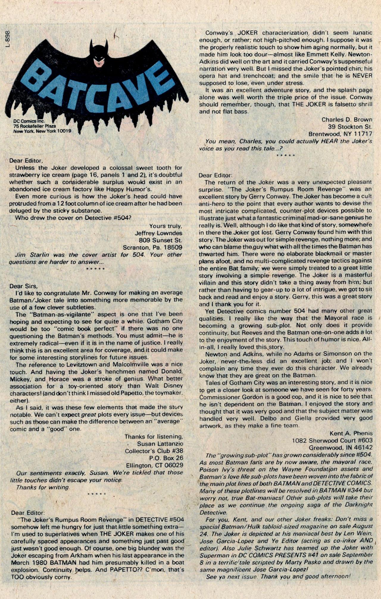 Detective Comics (1937) 509 Page 36