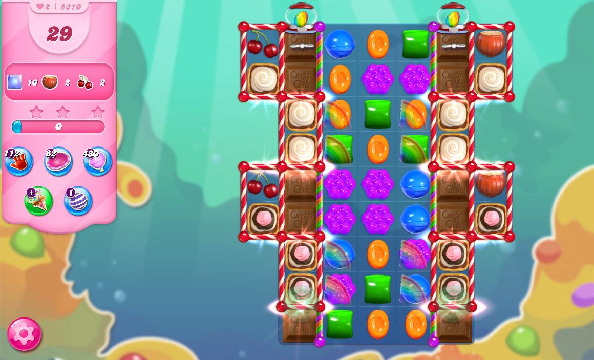 Candy Crush Saga level 5310