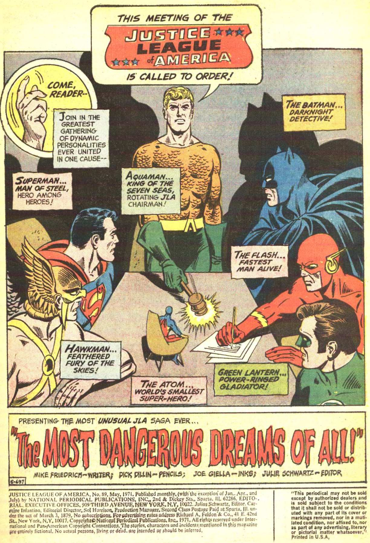 Justice League of America (1960) 89 Page 2