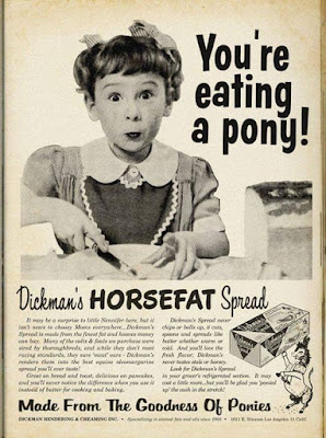 You're eating a pony