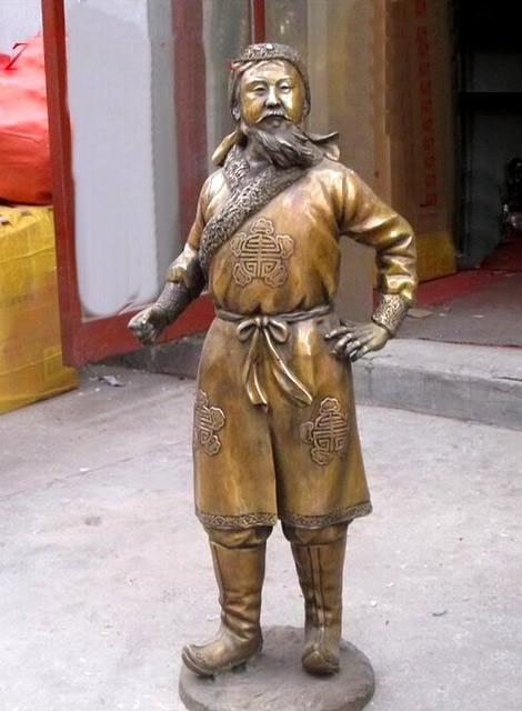 Chagatai statue