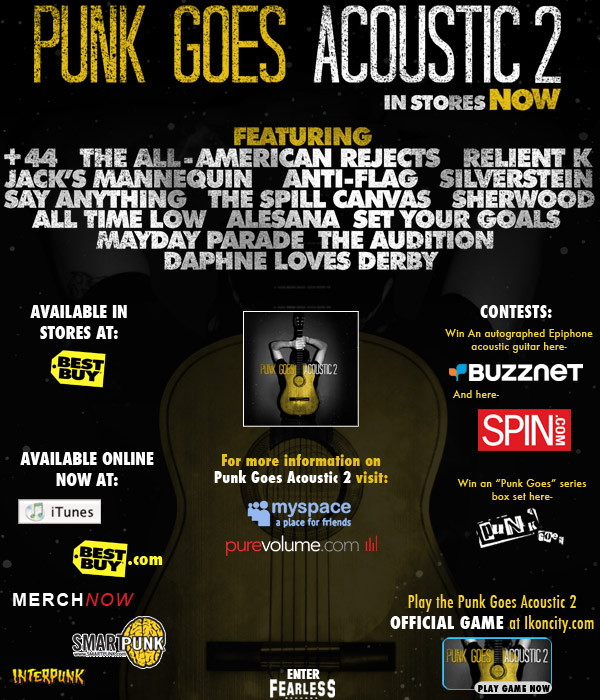 Download All Time Hit Mp3 Songs Of Kishore Kumar Asha: Punk Goes Acoustic 2 [2007]