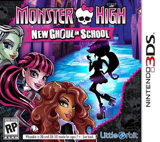 Free Download Monster High New Ghoul in School 3DS CIA Region Free