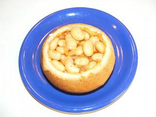 retete de mancare supa de fasole in paine,