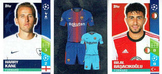 Champions League 17//18 Feyenoord Brad Jones Sticker 405