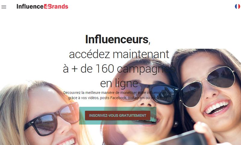 Monétiser son blog et réseaux sociaux avec Influence4brands