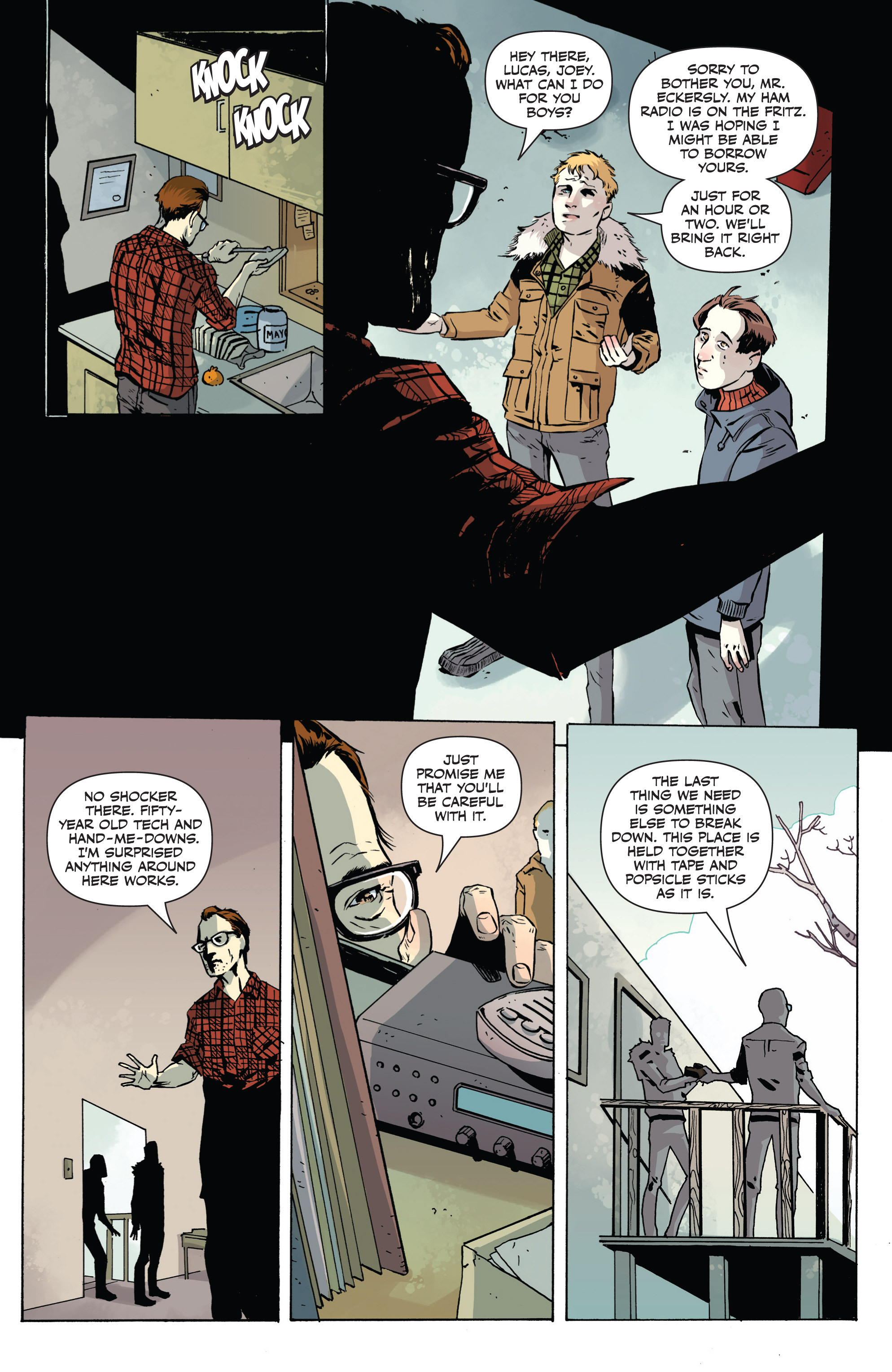Read online Sheltered comic -  Issue #1 - 7