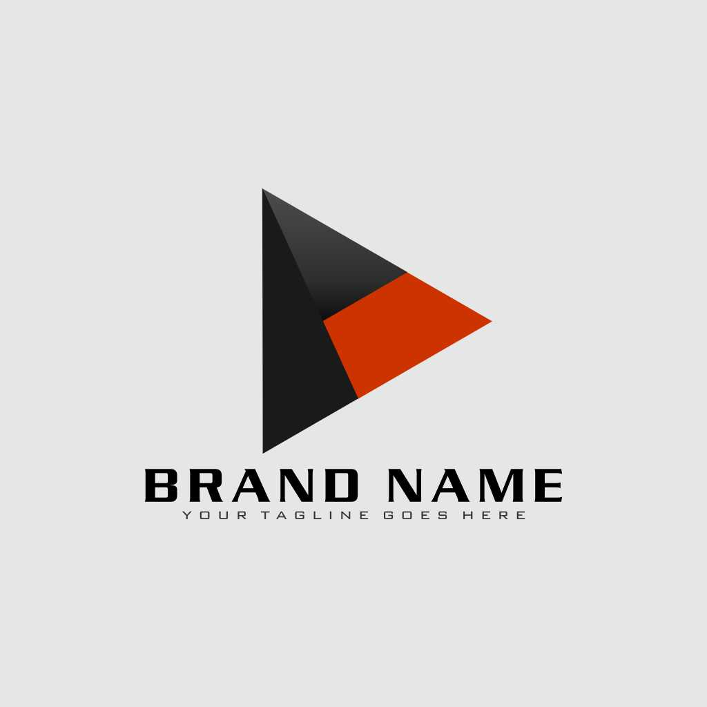 Blend Triangle Logo Design Template Free Download Vector CDR, AI, EPS and PNG Formats