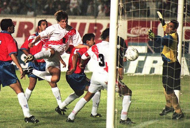 Perú y Chile en Clasificatorias a Francia 1998, 12 de enero de 1997