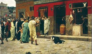 Ricerca sulla storia di Roma, le sommosse popolari