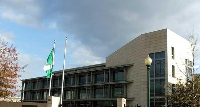 SHAMEFUL!  Nigerian Embassy In Washington Shut Down