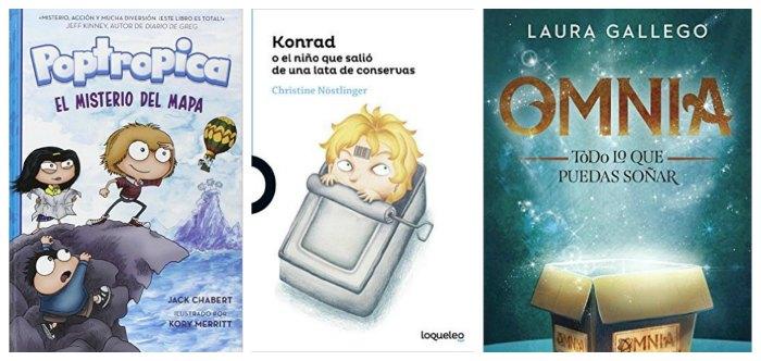 mejores cuentos y libros infantiles del 2016, poptropica, konrad lata, omnia laura gallego