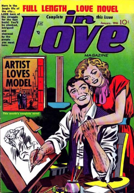 Simon-Kirby In Love Comics