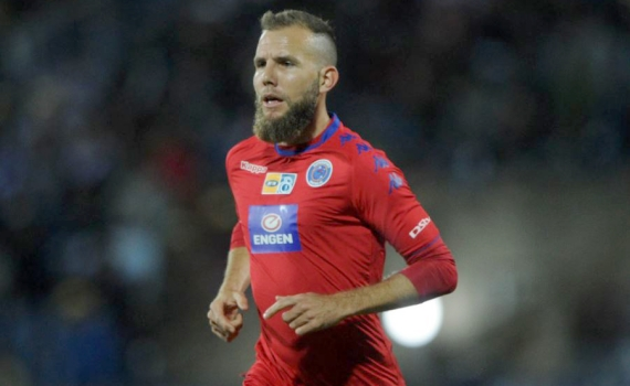 Jeremy Brockie is seven goals away from becoming the SuperSport United's all-time record goalscorer.