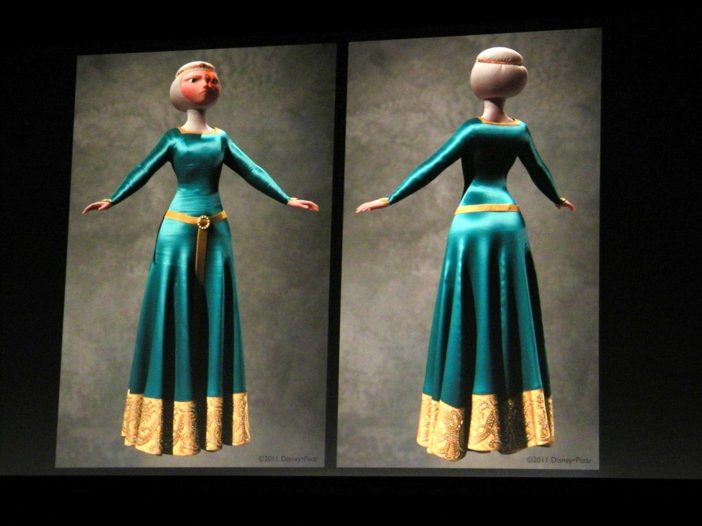 As I Said: Fashion In Film: Brave (2012)