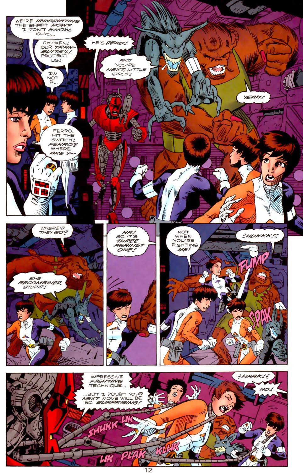 Legion of Super-Heroes (1989) 112 Page 12