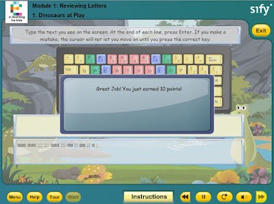 e-learning typing