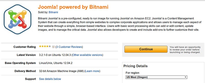 How to Setup Bitnami Joomla on Amazon ec2 - Cloud Computing